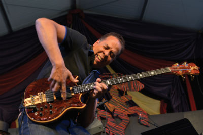 Stanley Clarke, Jazz Fest 2013, photo, Clayton Call