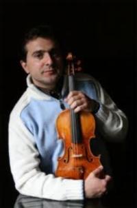 Matteo Fedeli with Stradivarius