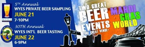 WYES Beer Tasting 2013