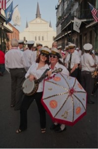 Queens of the Second Line - Banu Gibson and Leslie Cooper