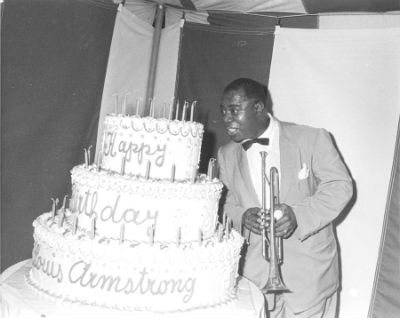 Louis Armstrong, birthday, photo, Jack Bradley