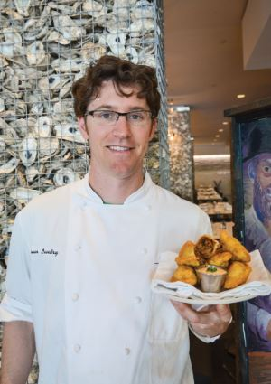 Chef Brian Landry, Borgne restaurant, photo Renee Bienvenu