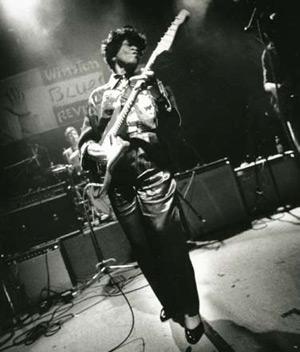 "Beverly ""Guitar"" Watkins, photo, OffBeat Magazine, October 2013"
