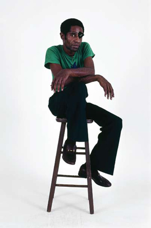 James Booker, stool, photo, Jim Scheurich, OffBeat Magazine, October 2013