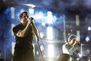 Nine Inch Nails, Trent Reznor, press photo, OffBeat Magazine, November, 2013