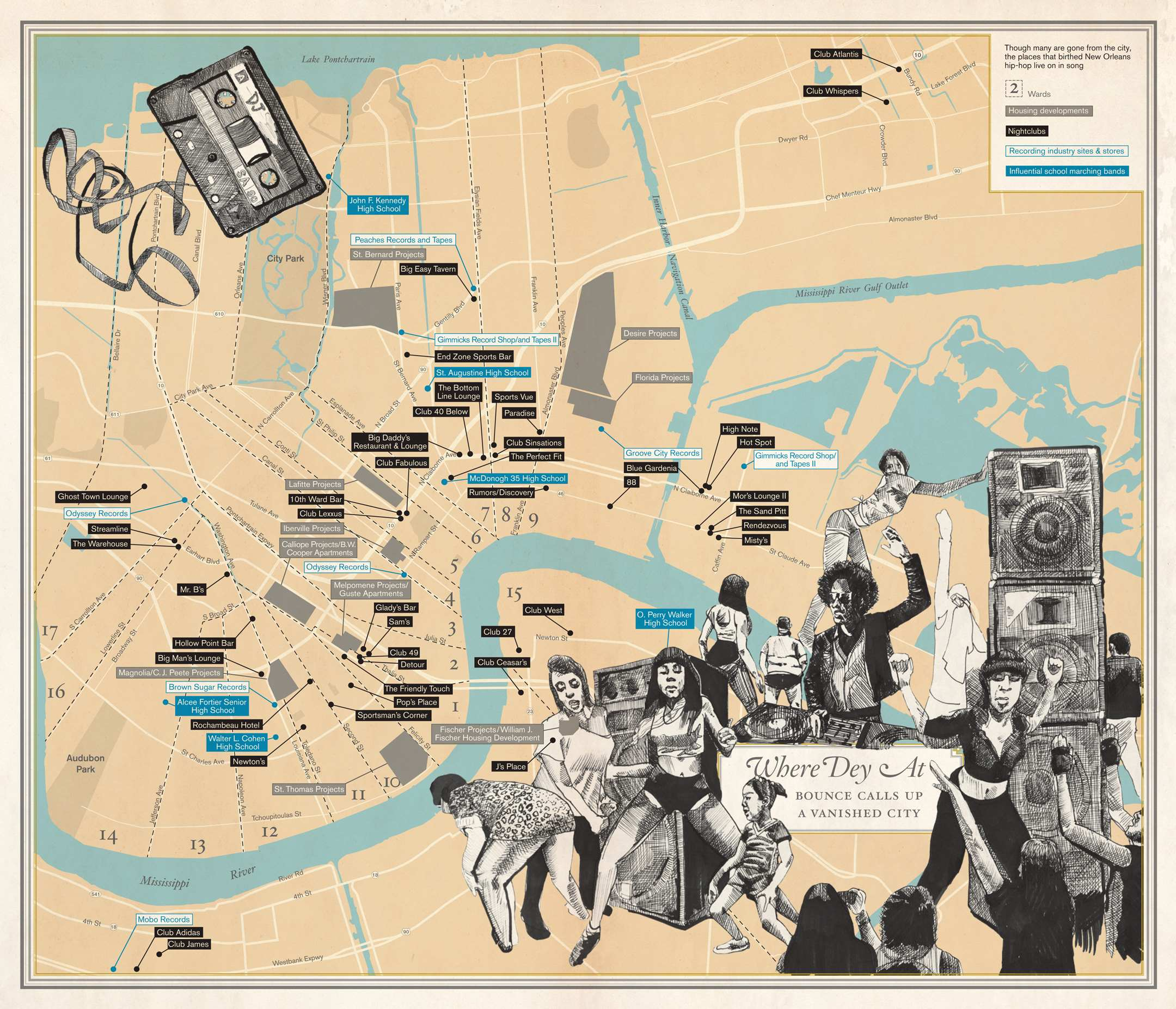 Drawing Near, Nearby: New Book Unfathomable City Re-Maps New Orleans