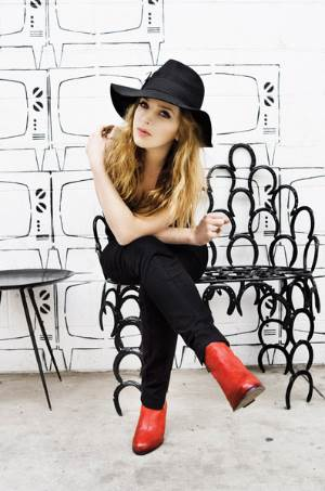 ZZ Ward, press photo, OffBeat Magazine, November, 2013