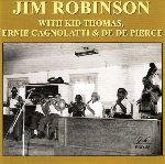 Jim Robinson, Kid Thomas, Ernie Cagnolatti, De De Pierce, album cover