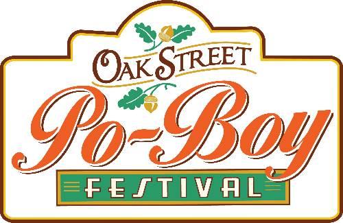 Oak Street Po-Boy Festival, logo, 2013