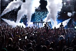 Buku-Fest-2013-blue-stage-shot-with-smoke-in-crowd