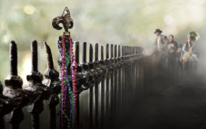 Treme-logo-fleur-de-lis-fence-with-Rebirth