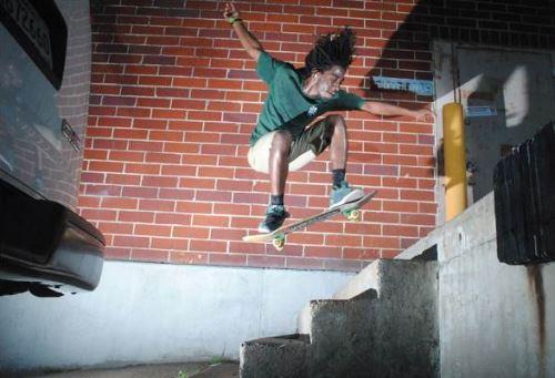 Chuck, Ollie, skateboarding, photo, Brad McCormick