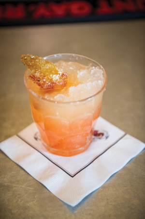 Big Chief Brumble, cocktail, photo, Elsa Hahne, OffBeat Magazine, February 2014