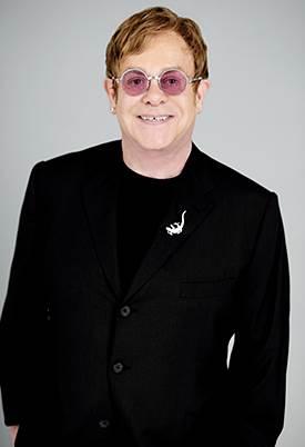 Elton John, press photo, New Orleans Arena