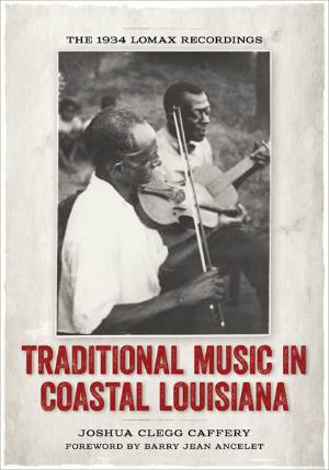 Traditional Music in Coastal Louisiana, book cover, OffBeat Magazine, February 2014
