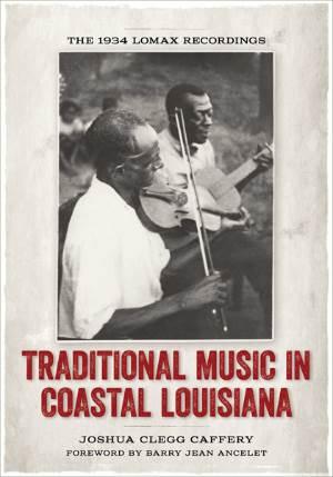 Traditional Music in Coastal Louisiana, book cover, OffBeat Magazine, February 2014