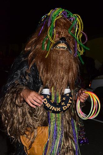 intergalactic krewe of chewbacchus by kim welsh
