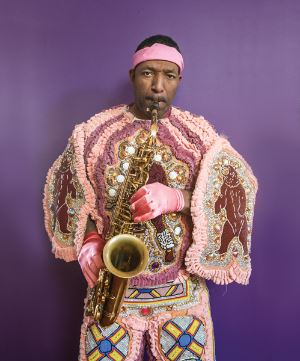 Donald Harrison, sax, photo, Elsa Hahne, Golden Richard III, OffBeat Magazine, March 2014