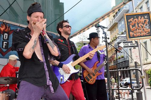John Lisi, French Quarter Fest, 2011, photo