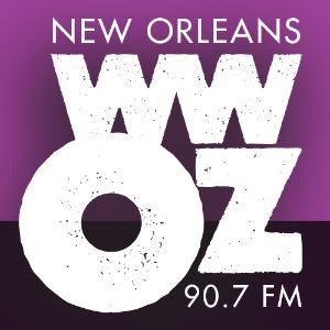 WWOZ logo, 2014