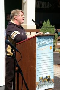 Jazz Fest Executive Producer Quint Davis, Jazz Fest 2014