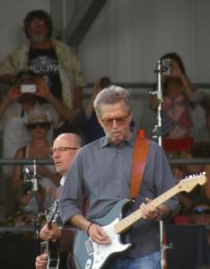 Eric Clapton, Jazz Fest 2014, by Stephen Maloney, OffBeat Magazine
