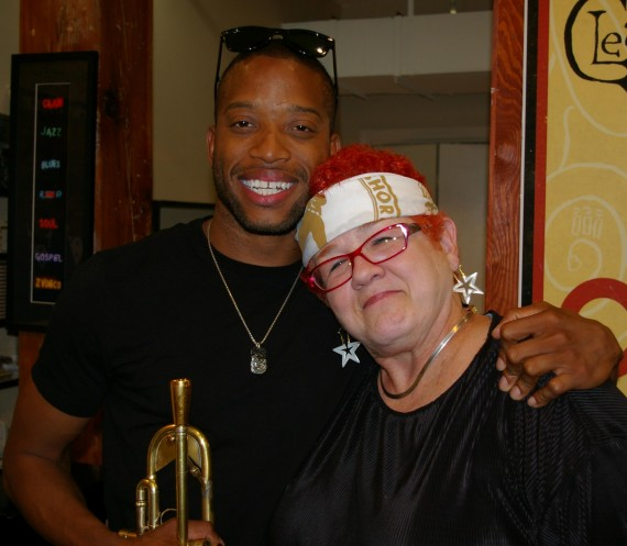 Trombone Shorty, Jan Ramsey, by Stephen Maloney, OffBeat Magazine