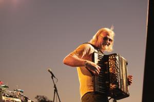 Johnny Sansone, photo, Michael P. Clark, OffBeat Magazine, May 2014