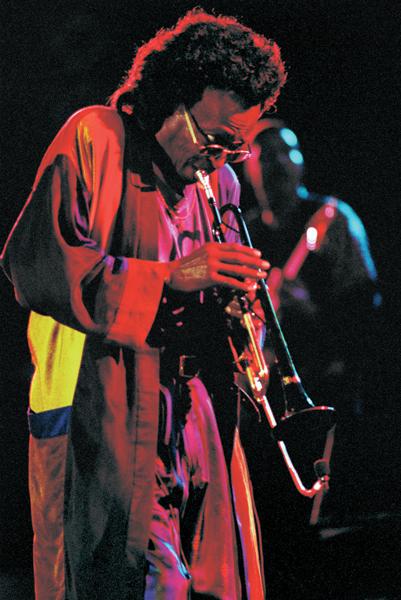 Miles Davis, photo, John Glenn, OffBeat Magazine, May 2014