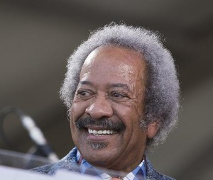 Allen Toussaint, Jazz Fest 2014, by Willow Haley, OffBeat Magazine