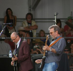 Clapton Vs Springsteen A Tale Of Opposites At Jazz Fest 2014