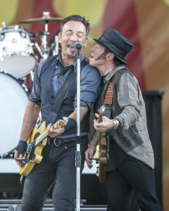 Bruce Springsteen, Jazz Fest 2014, by Willow Haley, OffBeat Magazine