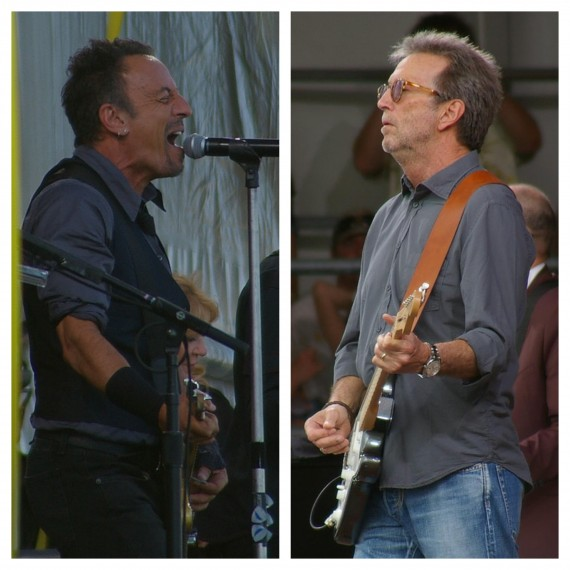 Clapton Vs Springsteen: A Tale Of Opposites At Jazz Fest 2014