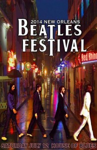 2014 New Orleans Beatles Festival, House of Blues, OffBeat Magazine