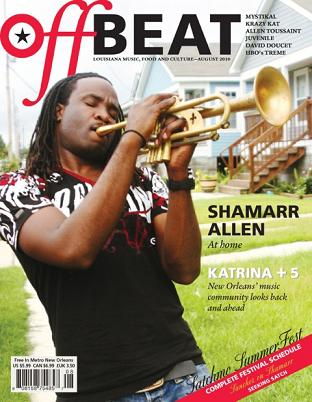 Shamarr Allen, OffBeat Magazine