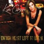 Kim Carson, Enough Heart Left to Break, album cover, OffBeat Magazine, August 2014