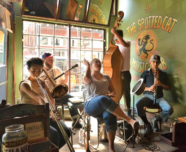 Shotgun Jazz Band, Marissa Altazan, OffBeat Magazine, August 2014
