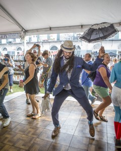 Second Line at Satchmo Summerfest 2014, Willow Haley, OffBeat Magazine