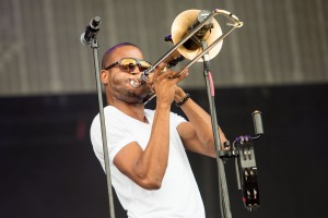 Trombone Shorty, Lollapalooza 2014, Josh Brasted, OffBeat Magazine