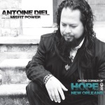 Antoine Diel & the Misfit Power, On the Corner of Hope and New Orleans, album cover, OffBeat Magazine, September 2014