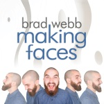 Brad Webb, Making Faces, album cover, OffBeat Magazine, September 2014