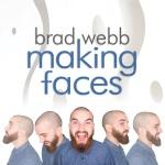 Brad Webb, Making Faces, album cover, OffBeat Magazine, September 2014