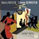 Henry Butler/Steve Bernstein & the Hot 9, Viper's Drag, album cover, OffBeat Magazine, September 2014