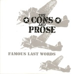 The Cons and Prose, Famous Last Words, album cover, OffBeat Magazine, September 2014