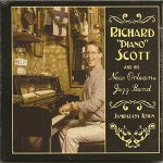 "Richard ""Piano"" Scott, Jambalaya Town, album cover, OffBeat Magazine, November 2014"