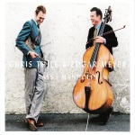 Chris Thile & Edgar Meyer, Bass and Mandolin, album cover, OffBeat Magazine, November 2014