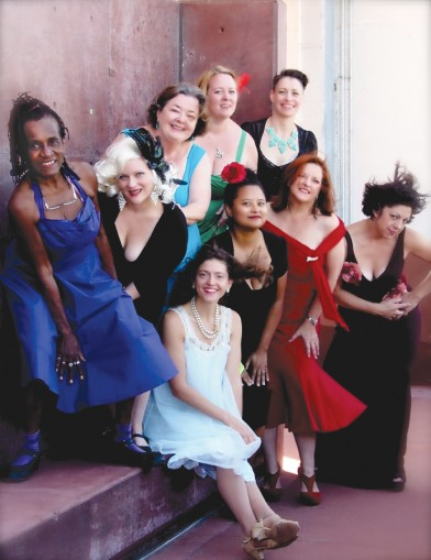 The New Orleans Nightingales, Photo by Kristin Fouquet, OffBeat Magazine, December 2014