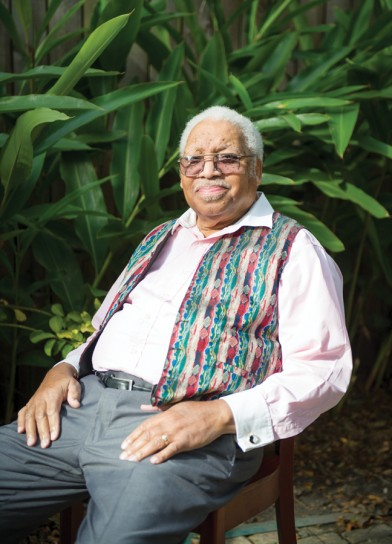 Ellis Marsalis, Photo by Elsa Hahne, OffBeat Magazine, January 2015