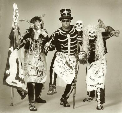 Skull and Bones Gang, Photo by Rick Olivier, OffBeat Magazine, February 2015