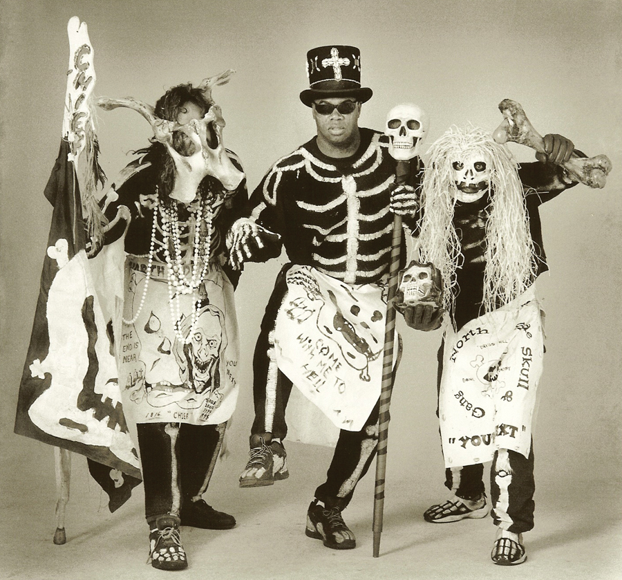 Image result for mardi gras skeletons neighborhoods historic